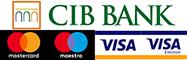 Webáruházunkban a CIB bank biztonságos kártyás fizetési megoldásával is fizethet