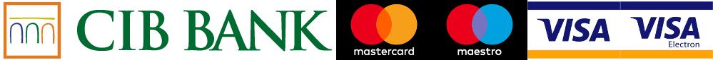 CIB Bank elfogadott bankkártyák