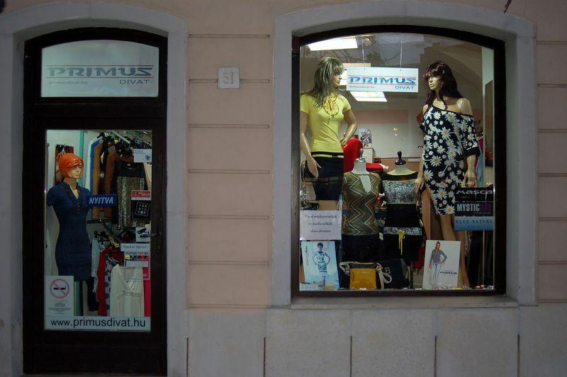 Primus divat női üzlet, 9400 Sopron, várkerület 51.