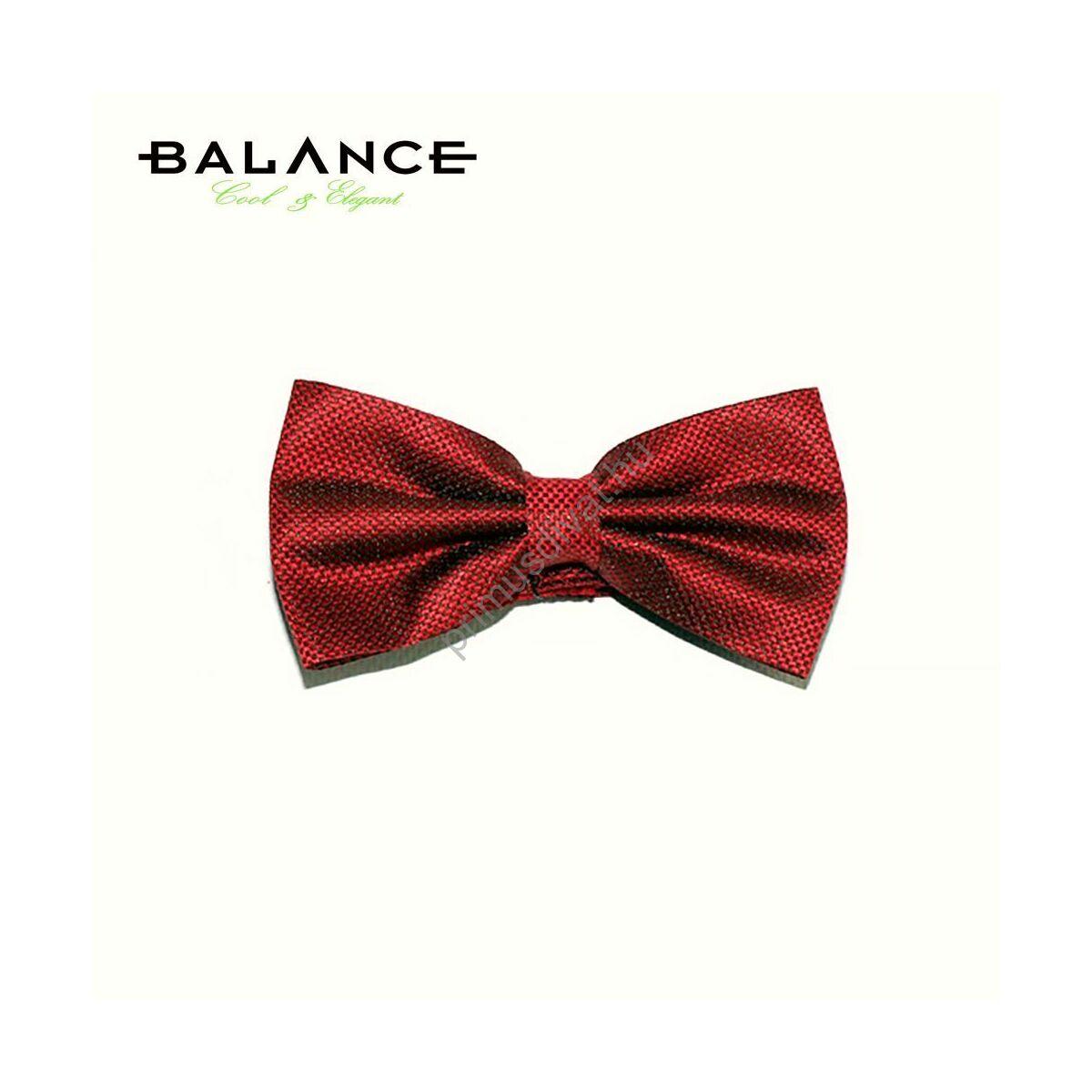 32c5985f4c Kép 1/1 - Balance szövött apró mintás piros csokornyakkendő