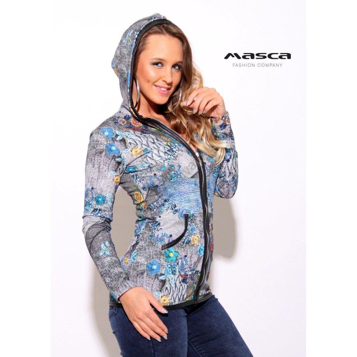 Kép 1 1 - Masca Fashion színes mintás vékony kötött 365ca56f47