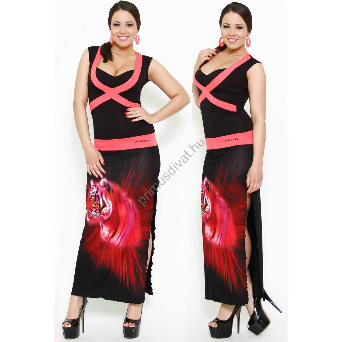 Kép 1 2 - Masca Fashion kereszt betétes maxi ruha a5cf9c3df5