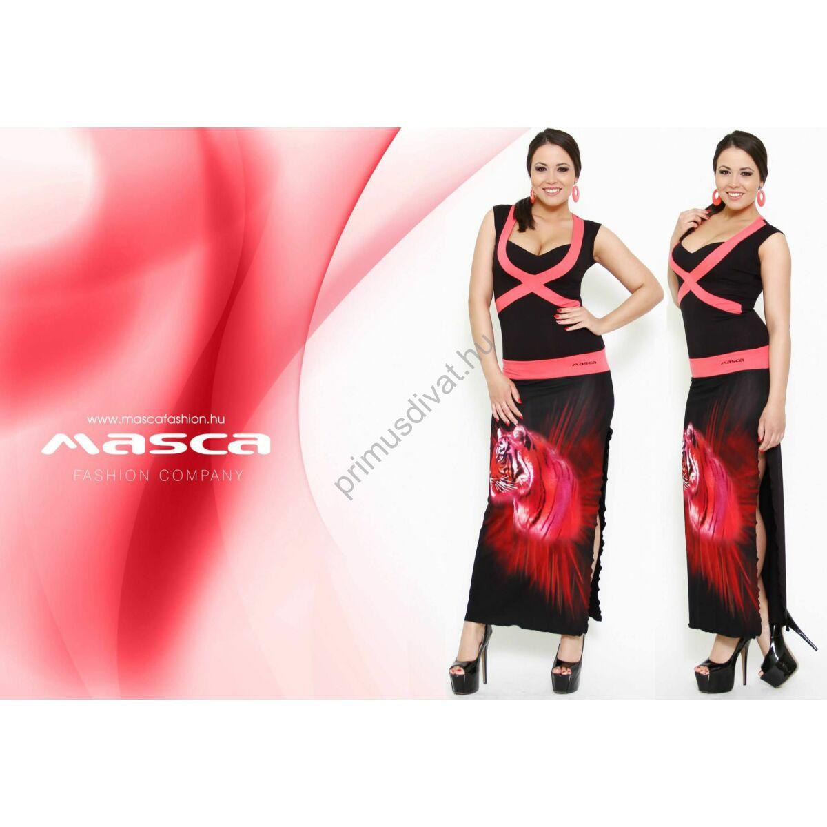 Masca Fashion kereszt betétes maxi ruha 7a81413f58