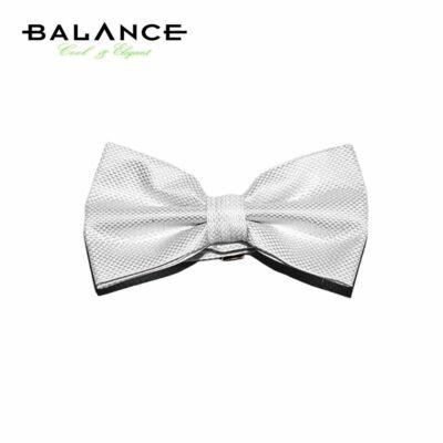 f71853fc7a Balance szövött apró mintás fehér csokornyakkendő - Blnc310-3