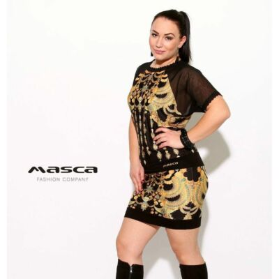 Masca Fashion rövid muszlin raglánujjú 7310111dbd
