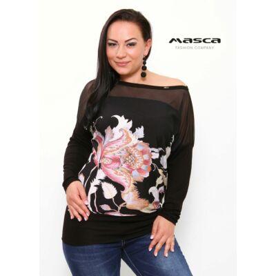 Masca Fashion rugalmas muszlin betétes csónaknyakú 93224a9893