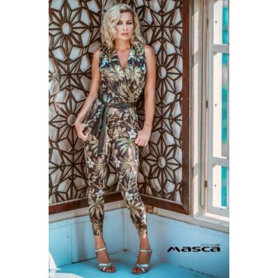Masca Fashion kétrétegű virágos hímzett világoskék tüllruha 796cd789cb