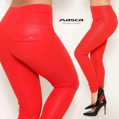 66073890a2 Masca Fashion magasított derekú, belül bolyhos rugalmas anyagú bőrhatású  leggings, cicanadrág