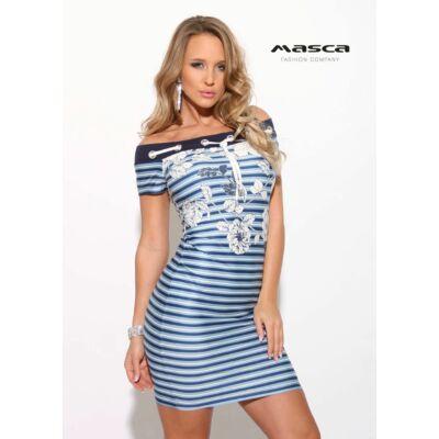 Masca Fashion ékszerkarikás fűzős vállra húzós nyakú 59e17d5439