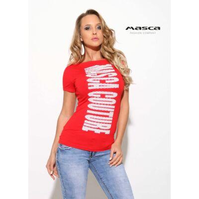 Masca Fashion színes mintás vékony kötött ecc0fc9640