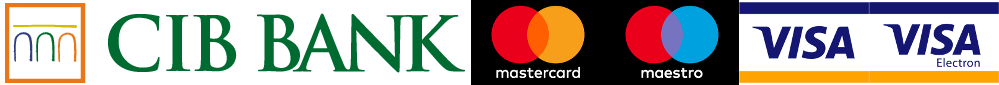 CIB Bank MasterCard Maestro Visa VisaElectron Webkártya